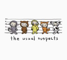 the usual suspects - kids One Piece - Short Sleeve