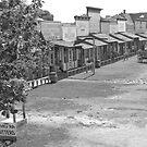 Front street - Dodge City, Kansas by Kent Burton