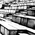 Steps at the stadium (1) by bubblehex08