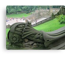 Detail of a Balustrade in Central Park Canvas Print