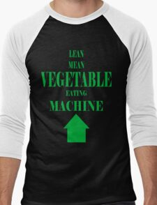 Vegetable Eating Machine Men's Baseball ¾ T-Shirt