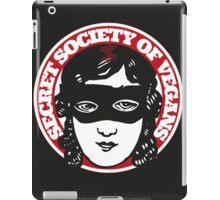Secret Society Of Vegans - Original Logo iPad Case/Skin