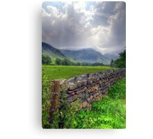 Before the Rains - Langdale Canvas Print