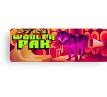 3704 Woolph Pak Canvas Print