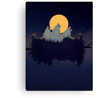 Midnight Sound Canvas Print