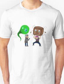Miniaturized! Septic Sam, Jacksepticeye, Markiplier and Tiny Box Tim  T-Shirt