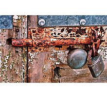 Secure...... Photographic Print