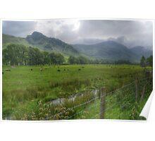 Silent Pastures - Langdale Poster