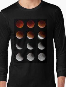 Blood Moon to Super Moon - Sept 27, 2015 Long Sleeve T-Shirt