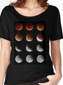 Blood Moon to Super Moon - Sept 27, 2015 Women's Relaxed Fit T-Shirt