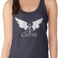 Supernatural Castiel Angel Wings Women's Tank Top