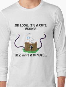 Look, It's a Cute Bunny... OHCRAP T-Shirt