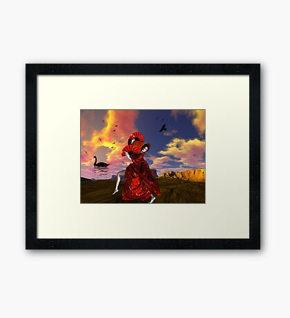 Dance As If No One Is Watching Framed Print