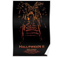 Halloween II Stencil Poster