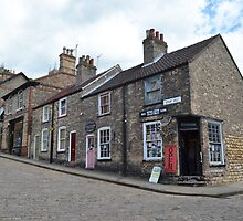 Row of houses in lincoln by Nick Pautrat