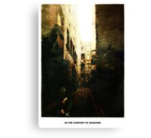 In The Comfort Of Shadows Canvas Print