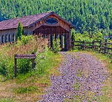 Stearns Creek Covered Bridge by TeresaB