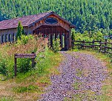 Stearns Creek Covered Bridge by TeresaB