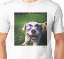 Happiest Dog on Earth Unisex T-Shirt
