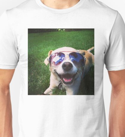 Happiest Dog on Earth Unisex T-Shirt
