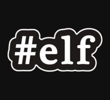 Elf - Hashtag - Black & White One Piece - Short Sleeve