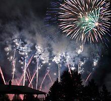 Canada Day Fireworks by celesteodono