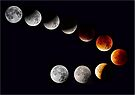 Lunar Eclipse September 2015 by SWEEPER