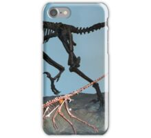 Pretty Deinonychus iPhone Case/Skin