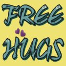 FREE HUGS TXT by cheeckymonkey
