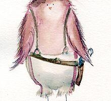Capt. Macaw Reynolds- Firefly Nerdy Birdy by NerdgasmsByKat