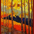 Aspens (version of Quiller's) by Annie Wise