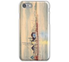 Sponge Docks At Tarpon Springs Florida iPhone Case/Skin