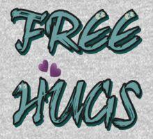 FREE HUGS TXT. Kids Tee