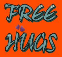 FREE HUGS TXT. Kids Clothes