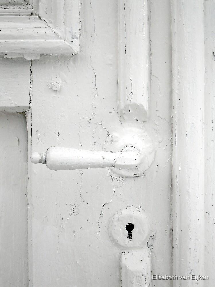 White on white by Elisabeth van Eyken