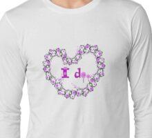 i do txt hearts lollipop candy graphic art Long Sleeve T-Shirt