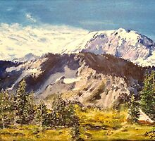 MT Rainier  by Jennifer Ingram