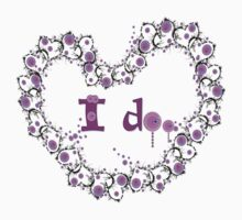 i do txt hearts lollipop candy graphic art Kids Tee