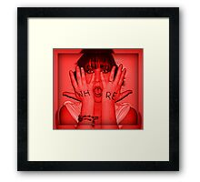 Whore'able but Able'whore Framed Print
