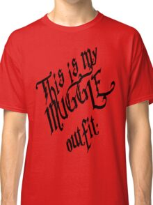 Muggle Outfit Classic T-Shirt