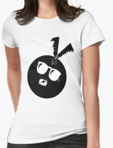 unique funny bat's hijacking graphic art Womens Fitted T-Shirt