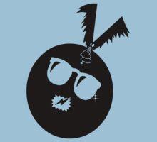 unique funny bat's hijacking graphic art Kids Tee