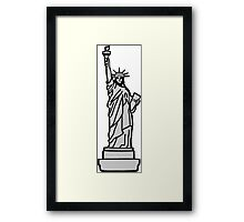 American Statue of Liberty Framed Print