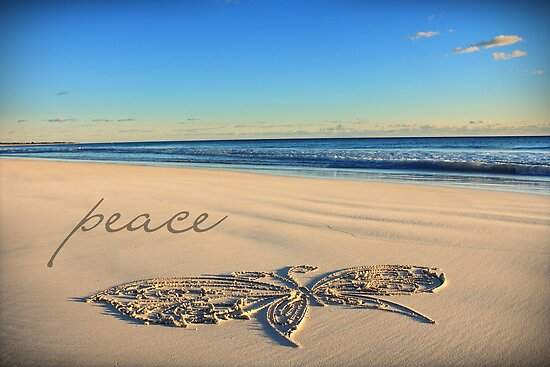 The Butterfly of Peace by CarlyMarie