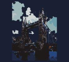 London Tower Bridge UK by cheeckymonkey