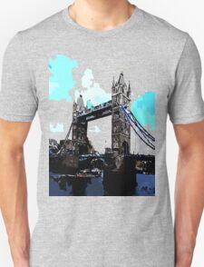 London Tower Bridge UK Unisex T-Shirt