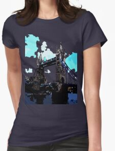 London Tower Bridge UK Womens Fitted T-Shirt