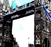 London Tower Bridge UK Sticker