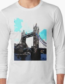 London Tower Bridge UK Long Sleeve T-Shirt