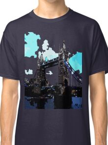 London Tower Bridge UK Classic T-Shirt
